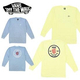 バンズ×ピルグリム(VANS×Pilgrim Surf+Supply) APPLE LONG SLEEVE T-SHIRT メンズ 長袖 Tシャツ/ロングTシャツ/メンズ[AA]