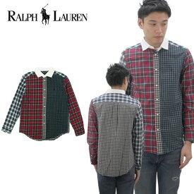 ラルフローレン(Ralph Lauren) Blake Plaid Cotton Shirt ボーイズ 長袖 シャツ [AA]