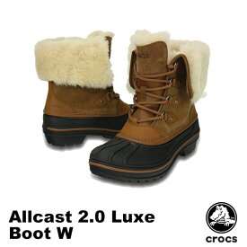 クロックス(CROCS) オールキャスト 2.0 ラックス ブーツ ウィメン(allcast 2.0 luxe boot w) レディース/女性用/ブーツ 送料無料 [BB]【25】