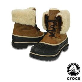 クロックス(CROCS) オールキャスト 2.0 ラックス ブーツ メン(allcast 2.0 luxe boot men メンズ ブーツ【男性用】 送料無料 [CC]【25】