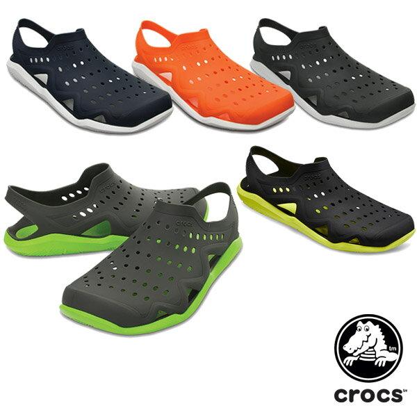 【送料無料】クロックス(CROCS) スウィフトウォーター ウェーブ メン(swiftwater wave men)【男性用】【楽ギフ_包装選択】【r】[BB]【30】