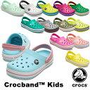 クロックス(CROCS) クロックバンド キッズ/ホールサイズ(crocband kids) サンダル【ベビー & キッズ 子供用】 [AA] 【…