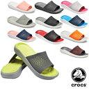 【送料無料】クロックス(CROCS) ライトライド スライド(literide slide) メンズ/レディース サンダル【男女兼用】[BB]【21】