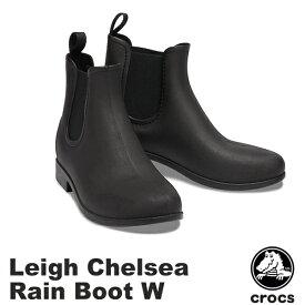 クロックス(CROCS) レイ チェルシー レイン ブーツ ウィメン(leigh chelsea rain boot w) レディース/女性用/長靴 [BB]【20】