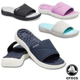 クロックス(CROCS) リバイバ スライド ウィメン(reviva slide w)レディース サンダル【女性用】 [BB]【30】