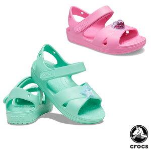 クロックス(CROCS) クラシック クロス ストラップ チャーム サンダル t(classic cross strap charm sandal t) キッズ/サンダル/シューズ 【子ども用】 [BB]【10】