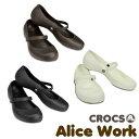 【送料無料】CROCS Alice Work Lady's クロックス アリス ワーク レディース サンダル パンプス【女性用】[AA]【20】
