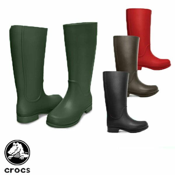 【送料無料】クロックス(CROCS) ウェリー レインブーツ ウィメンズ(wellie rain boot w) 長靴 【女性用】【楽ギフ_包装選択】【r】【40】[CC]