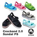 【送料無料】クロックス(CROCS) クロックバンド 2.0 サンダル PS(crocband 2.0 sandal PS) サンダル【ベビー & キッズ 子供用】【楽ギ…