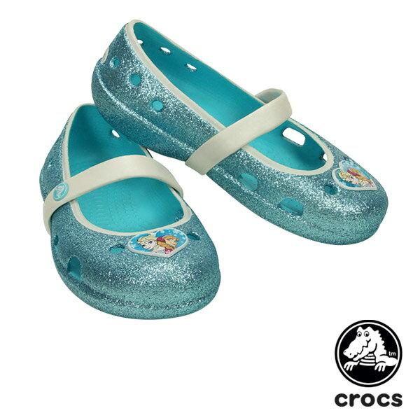 【送料無料】クロックス(CROCS) キーリー フローズン フラット キッズ(keeley frozen flat kids)【ベビー&キッズ 子供用】【楽ギフ_包装選択】【r】[AA]【30】