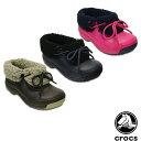 【送料無料】クロックス(CROCS) ブリッツェン ラックス コンバーチブル キッズ(Blitzen Luxe Convertible Kids) サンダル【ボア ショートブーツ ベビー & キッズ