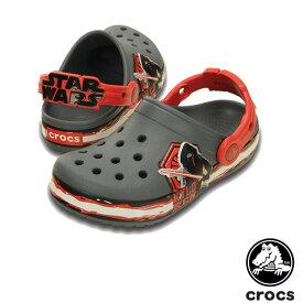 【送料無料】クロックス(CROCS) クロックバンド スター・ウォーズ カイロ・レン(ヴィラン) クロッグ キッズ(crocband star wars kylo ren clog kids) サンダル【ベビー & キッズ 子供用】[AA]【46】