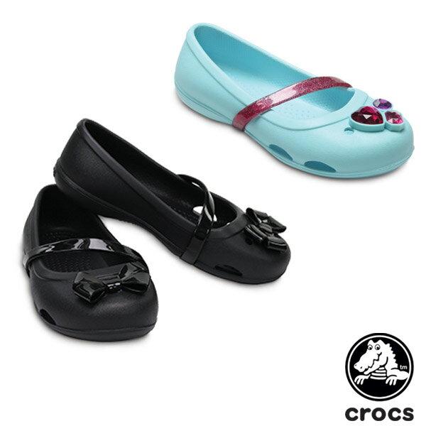 【送料無料】クロックス(CROCS) クロックス リナ フラット キッズ(crocs lina flat kids) サンダル【ベビー & キッズ 子供用】【楽ギフ_包装選択】【r】【21】[AA]
