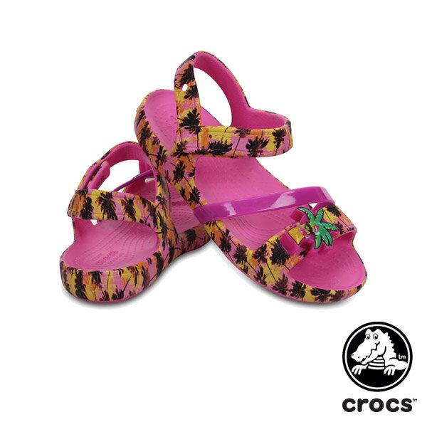 【送料無料】クロックス(CROCS) クロックス リナ ライツ サンダル キッズ(crocs lina lights sandal kids) サンダル【ベビー & キッズ 子供用】【楽ギフ_包装選択】【r】[AA]【31】