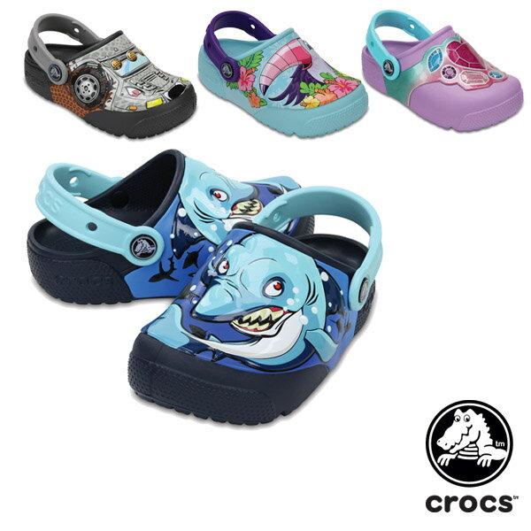 【送料無料】クロックス(CROCS) クロックス ファン ラブ ライツ キッズ(crocs fun lab lights kids) サンダル【ベビー & キッズ 子供用】【楽ギフ_包装選択】【r】[AA]【31】