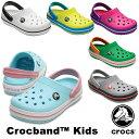 【送料無料】クロックス(CROCS) クロックバンド キッズ/ホールサイズ(crocband kids) サンダル【ベビー & キッズ 子供用】[AA] 【26】