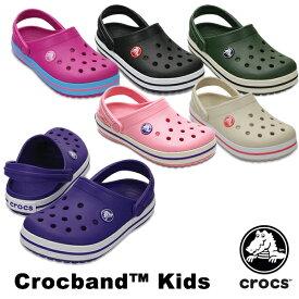 【送料無料】クロックス(CROCS) クロックバンド キッズ/ホールサイズ(crocband kids) サンダル【ベビー & キッズ 子供用】[AA] 【20】