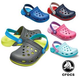 【送料無料】クロックス(CROCS) エレクトロ 3.0 クロッグ(electro 3.0 clog ) サンダル【ベビー & キッズ 子供用】[AA] 【20】