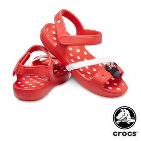 【送料無料】クロックス(CROCS) クロックス リナ ミニー サンダル キッズ(crocs lina Minnie sandal kids) サンダル【ベビー & キッズ 子供用】[AA]