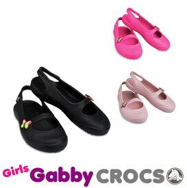 【送料無料対象外】CROCS Girls Gabby クロックス ガールズ ギャビー【ベビー & キッズ 子供用】[AA]【60】
