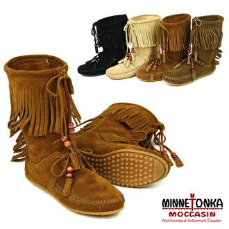 MINNETONKA WOODSTOCK Fringe Boot Minnetonka Woodstock スエードフリンジ boots (1662-1667-1668-1669)