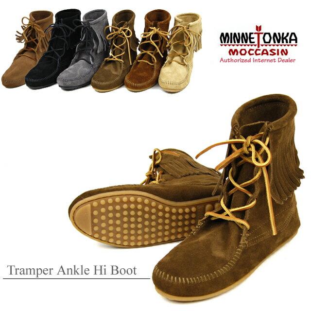 【送料無料】MINNETONKA Tramper Ankle Hi Boot ミネトンカ トランパー アンクルハイ ブーツ(422-427-428-429-421t)【楽ギフ_包装選択】【r】【42】[BB]