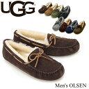 【送料無料】【正規品】アグ オーストラリア(UGG Australia) メンズ オルセン(Men's OLSEN)/スエードスリッポン【楽ギフ_包装選択】【…