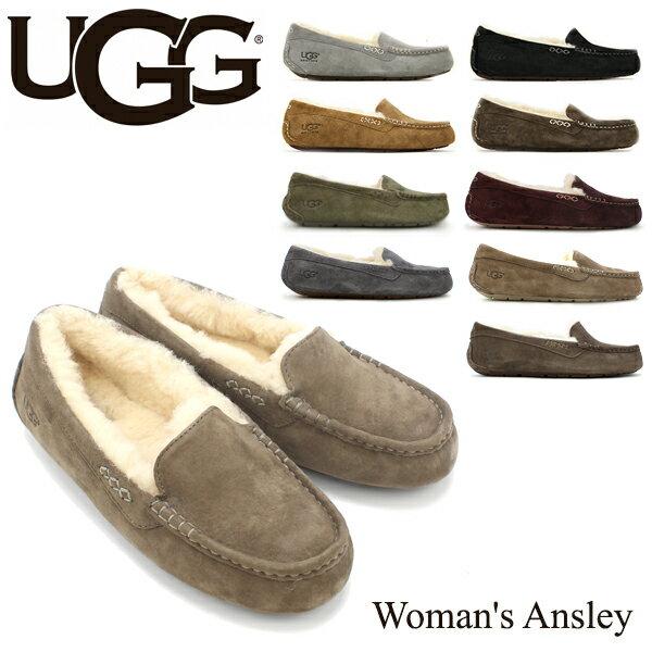 【送料無料】【正規品】アグ オーストラリア(UGG Australia) ウィメンズ アンスレー(Woman's Ansley)モカシン/スリッポン【楽ギフ_包装選択】【33】[BB]