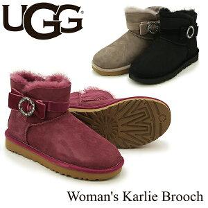 アグ (UGG) ウィメンズ カーリー ブローチ(Women's Karlie Brooch)シープスキン ブーツ 送料無料 [CC]