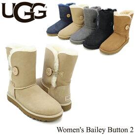 アグ(UGG) ウィメンズ ベイリー ボタン 2(Women's Bailey Button 2)/ムートンブーツ 送料無料 正規品 [CC]
