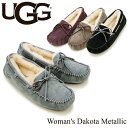 【送料無料】【正規品】アグ オーストラリア(UGG Australia) ウィメンズ ダコタ メタリック(Woman's Dakota Metallic)モカシン/スリッ…