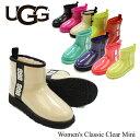 アグ (UGG) ウィメンズ クラシック クリア ミニ(Women's Classic Clear Mini)/レインブーツ/ショート レディース 【1…