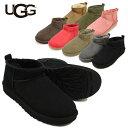 アグ (UGG) ウィメンズ クラシック ウルトラ ミニ(Women's Classic Ultra Mini)/ムートンブーツ/マイクロ丈 レディー…