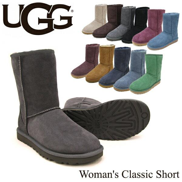 【送料無料】【正規品】アグ オーストラリア(UGG Australia) ウィメンズ クラシック ショート(Woman's Classic Short)シープスキン ブーツ【楽ギフ_包装選択】【33】[CC]