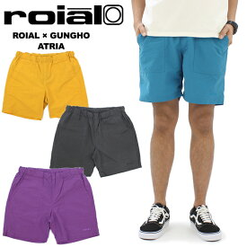 【ポイント10倍】ロイアル×ガンホー(roial×GUNG HO) Atria (R902MCO01) メンズ ハーフパンツ/ショートパンツ[AA]