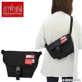 マンハッタン ポーテージ(Manhattan Portage)MARVEL Collection Casual Messenger Bag(MP1603MARVEL)メッセンジャーバッグ≪XS≫ ショルダーバッグ ポイント10倍 送料無料 国内正規品 [BB]