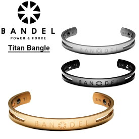 【ポイント10倍】【送料無料】バンデル(BANDEL) titan bracelet/bangle チタン バングル/ブレスレット/アクセサリー[BB]