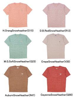 カーハート(Carhartt)WORKWEARS/SPOCKETT-SHIRTメンズ半袖Tシャツ/ワークウェア/カットソー/ゆうパケット送料無料US企画[AA-2]