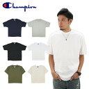 【ゆうパケット送料無料】チャンピオン(Champion) 7オンス コットン Tシャツ(Heritage 7 oz. Jersey Tee S/SL) (t2102) メンズ 半袖 T…