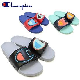 チャンピオン(Champion) C ロゴ カラー ブロック スライド サンダル (IPO Color Block Slide C Logo)メンズ/シャワーサンダル[BB]