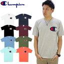 チャンピオン(Champion) C アップリケ Tシャツ(Heritage Tee/C Applique S/SL) (gt19-y06820) メンズ 半袖 Tシャツ ゆうパケット送料無…