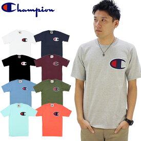【ゆうパケット送料無料】チャンピオン(Champion) C アップリケ Tシャツ(Heritage Tee/C Applique S/SL) (gt19-y06820) メンズ 半袖 Tシャツ[AA-2]