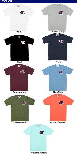 【メール便送料無料】チャンピオン(Champion)CアップリケTシャツ(HeritageTee/CAppliqueS/SL)(gt19-y06820)メンズ半袖Tシャツ【楽ギフ_包装選択】【r】[AA]