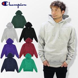 チャンピオン(Champion) リバースウィーブ 12oz プルオーバーパーカー (Reverse Weave 12oz Pullover Hooded Sweatshirt)スウェット フード(s1051) メンズ トップス US企画 [AA]