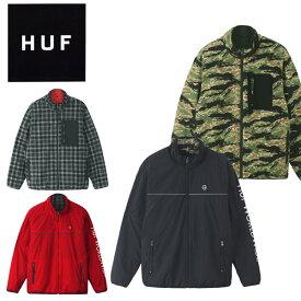 【送料無料】ハフ(HUF) MILTON REV POLAR FLEECE JACKET /フリース リバーシブル ジャケット/アウター/メンズ[CC]