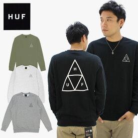 ハフ(HUF) TRIPLE TRIANGLE CREW クルー スウェット /トレーナー/男性用/メンズ【35】[BB]