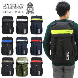 【ポイント10倍】【国内正規品】マイケル リンネル(MICHAEL LINNELL)Big Backpack(ML-008) バックパック/リュック[DD]