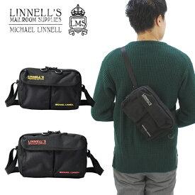 【ポイント10倍】【国内正規品】マイケル リンネル(MICHAEL LINNELL)2P Mini Shoulder(MLCD-500) ショルダーバッグ[BB]