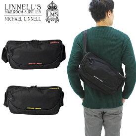 【ポイント10倍】【国内正規品】マイケル リンネル(MICHAEL LINNELL)Shoulder(MLCD-600) ショルダーバッグ[BB]