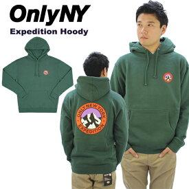 【送料無料】オンリー ニューヨーク(Only Ny) Expedition Hoody プルオーバー/スウェットパーカー/男性用/メンズ[BB]